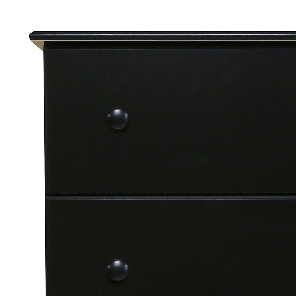 Lemoore Essential 5000 5 Drawer Chest in Black, , large
