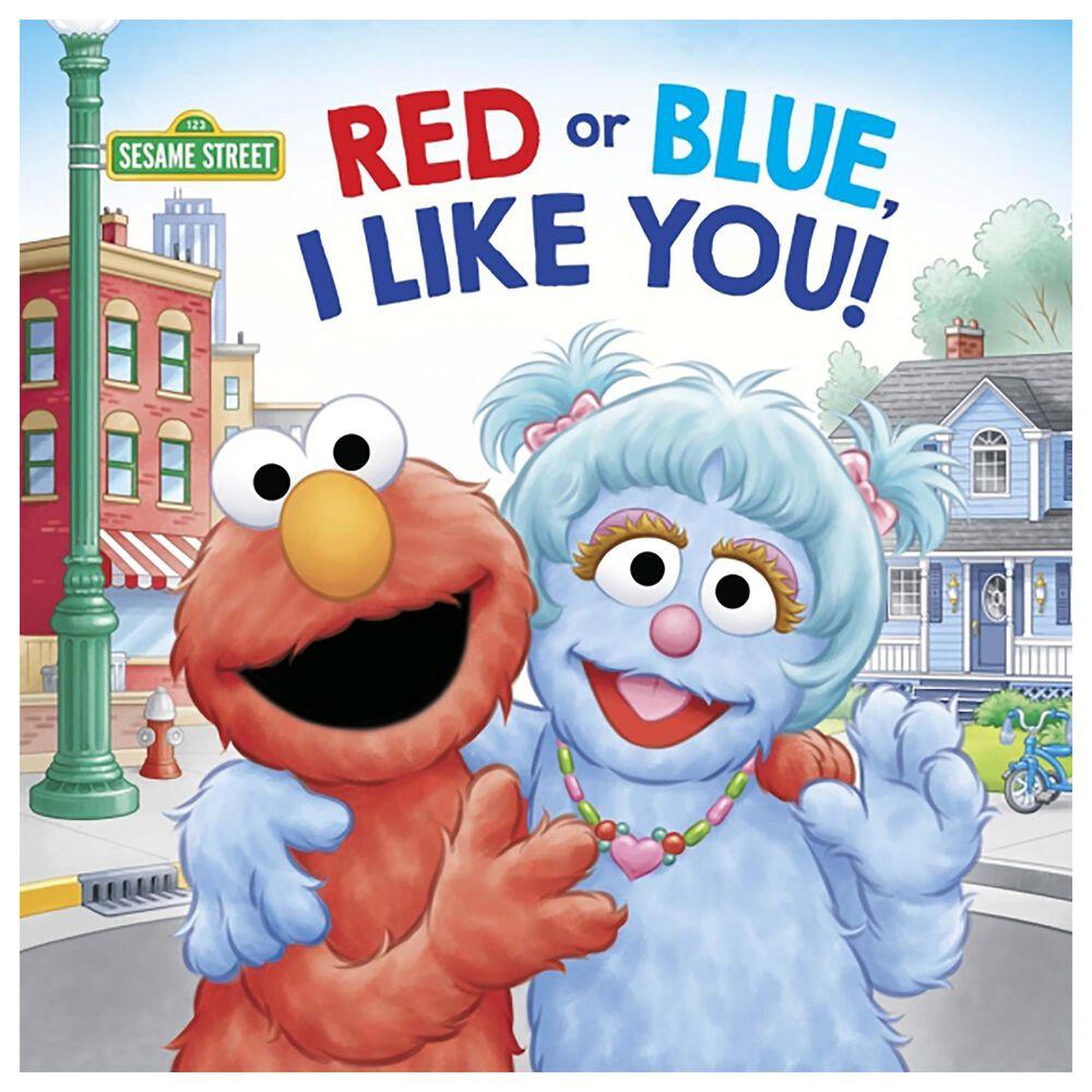 Red or Blue, I Like You! (Sesame Street), , large