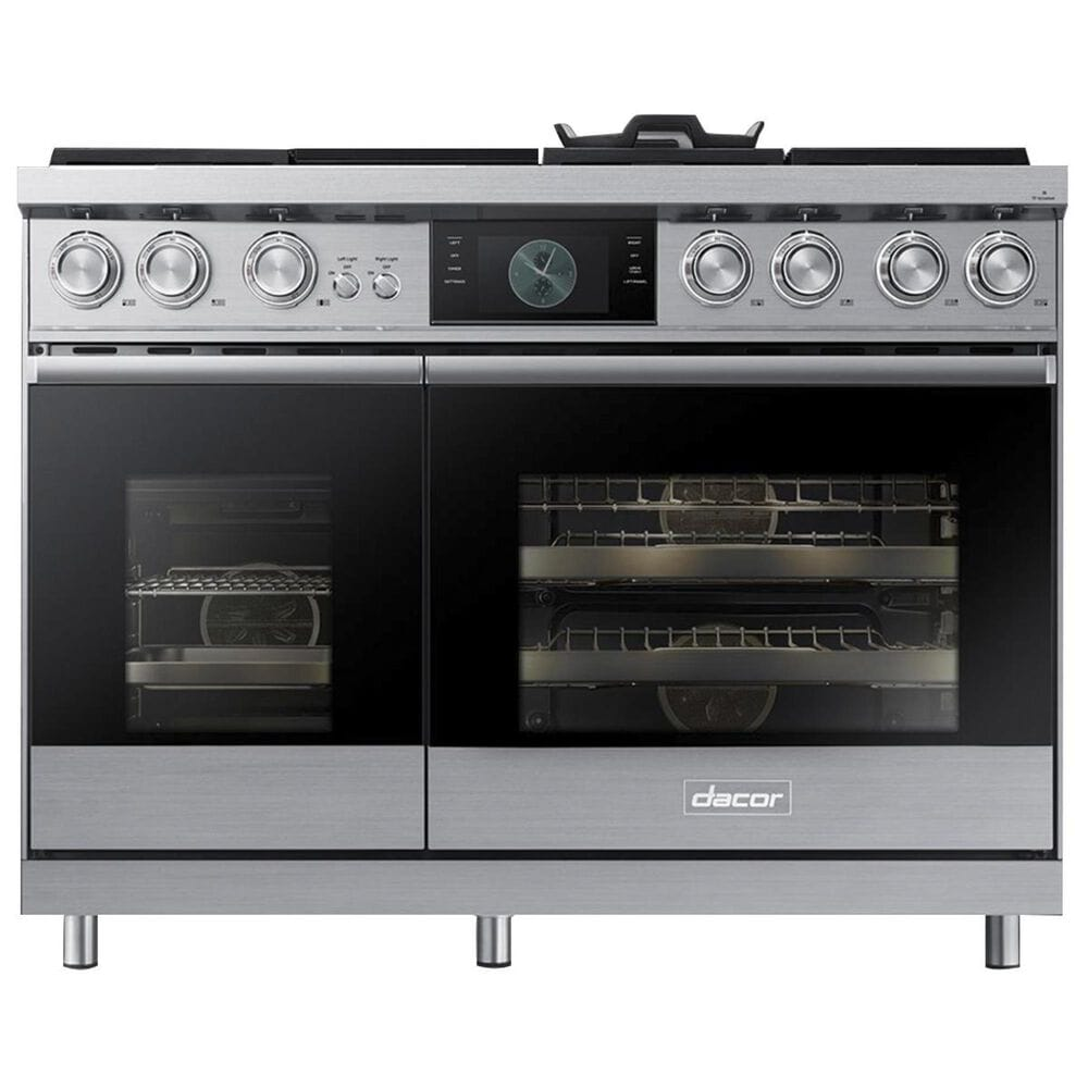 """Dacor 48"""" Free-Standing Dual Fuel Range in Stainless Steel, , large"""
