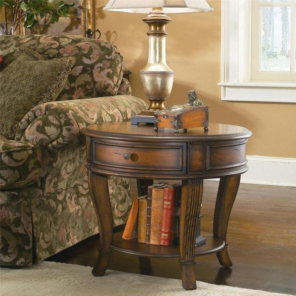 Hooker Furniture Brookhaven End Table, , large