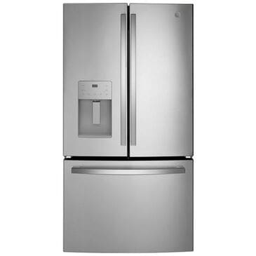 GE Appliances 25.6 Cu. Ft. French-Door Refrigerator in Stainless Steel, , large