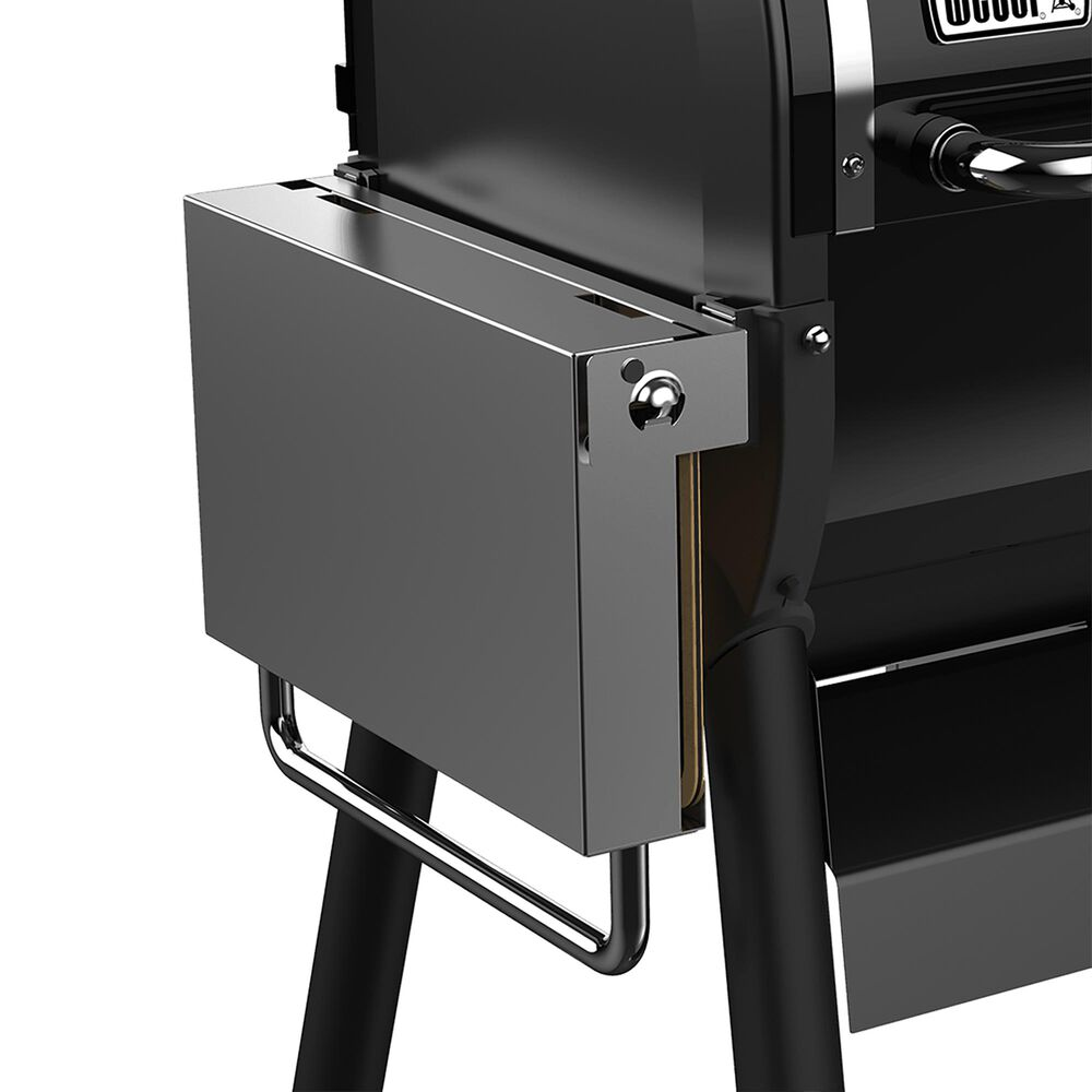 Weber Folding Side Table for SmokeFire Wood Pellet Grills in Stainless Steel, , large