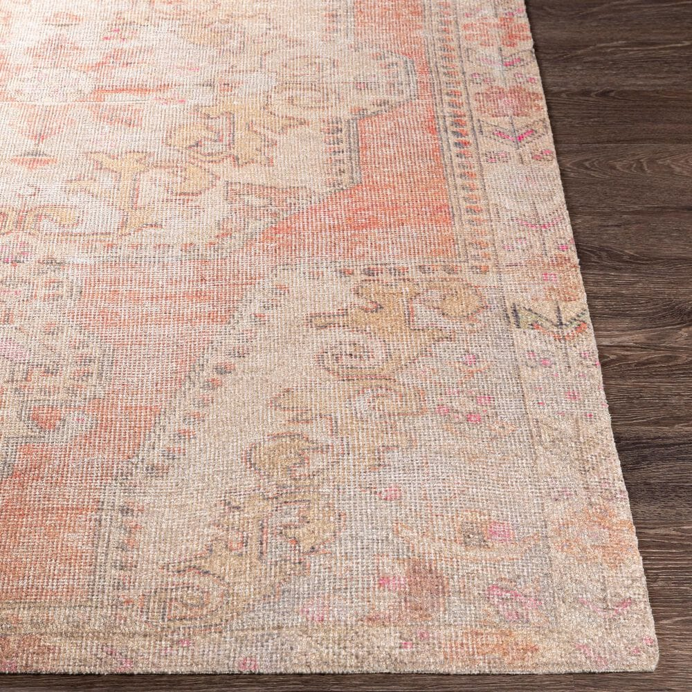 "Surya Unique UNQ-2314 5' x 7'6"" Orange, Wheat and Ivory Area Rug, , large"