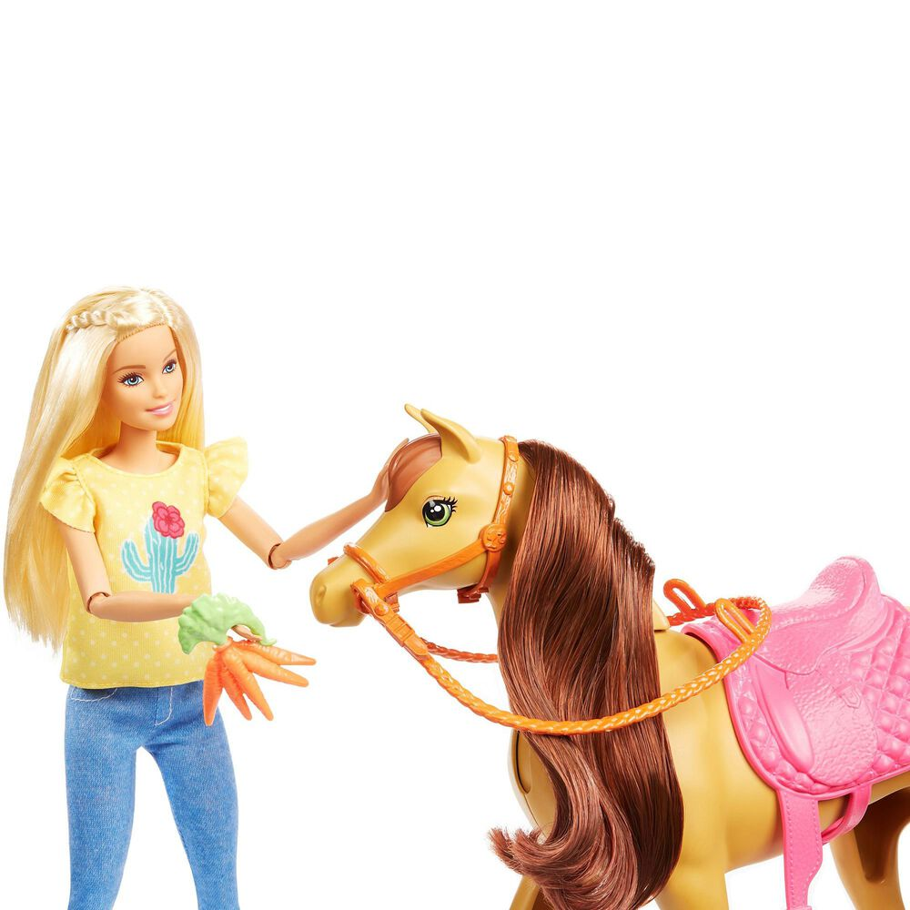 Mattel Barbie Hugs N Horses, , large