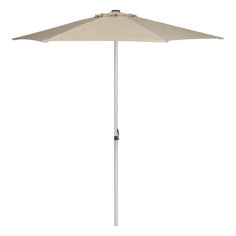 Safavieh Hurst 9' Push Up Umbrella in Beige, , large