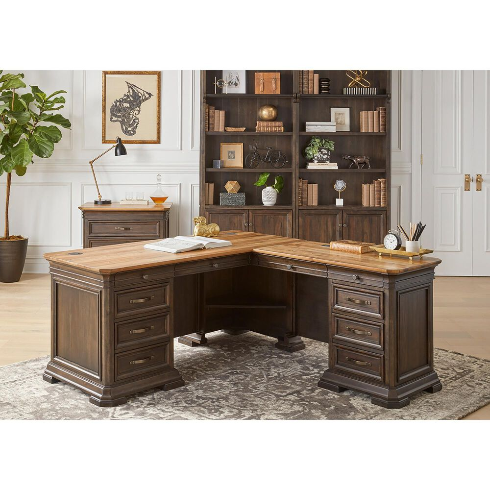 Wycliff Bay Sonoma Lateral File in Coffee, , large