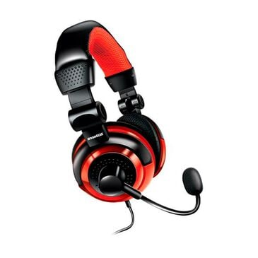 Dreamgear Universal Elite Wired Gaming Headset with Microphone in Red, , large