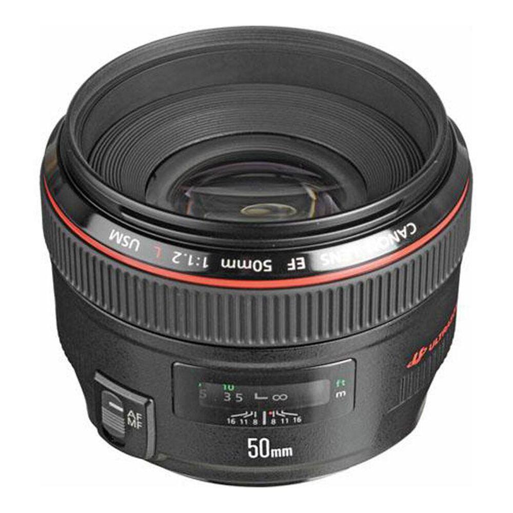 Canon EF 50mm f/1.2l USM Telephoto Lens, , large
