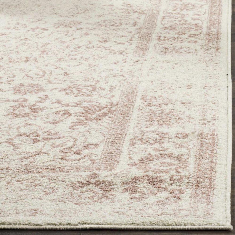 Safavieh Adirondack ADR109H 3' x 5' Ivory and Rose Area Rug, , large
