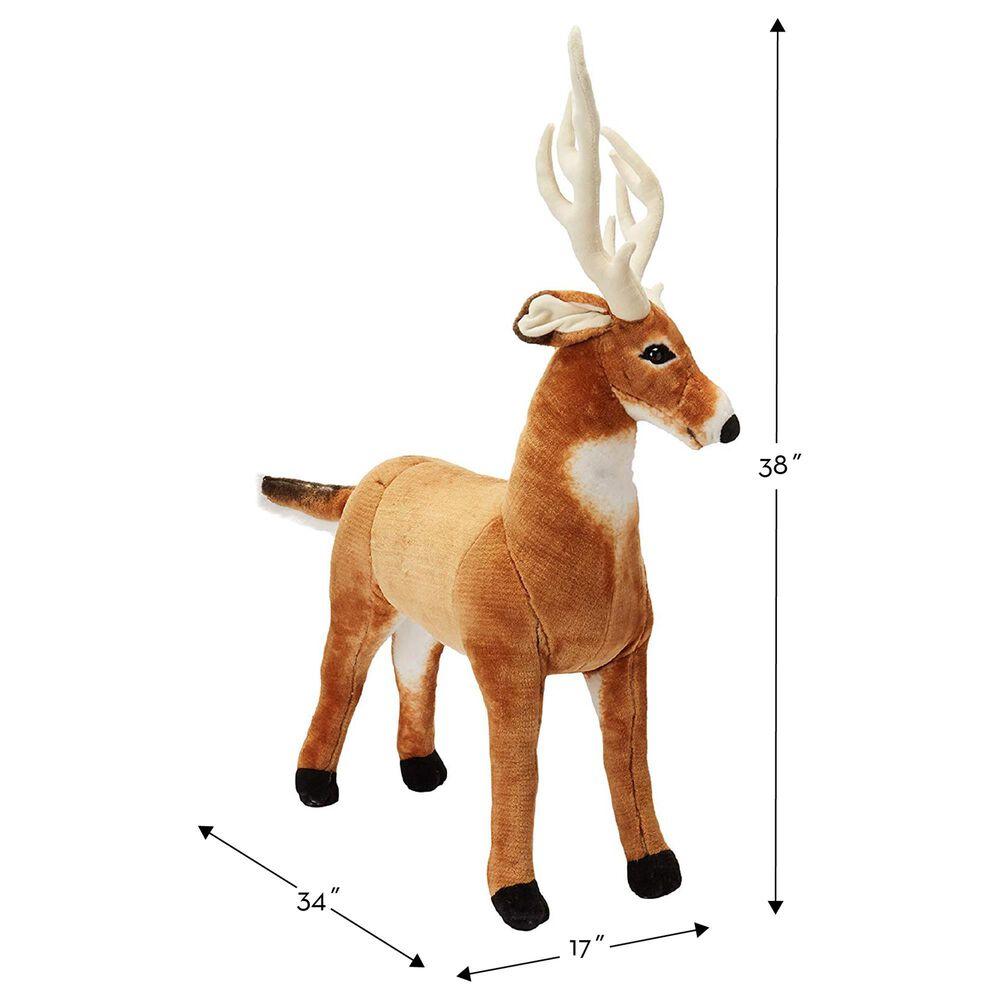 Melissa & Doug Lifelike Plush Deer, , large