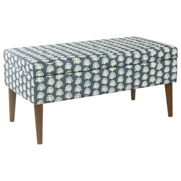 Kinfine Storage Bench in Turquoise, , large