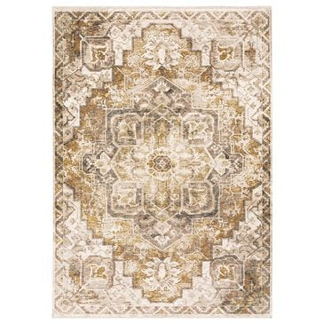 "Oriental Weavers Maharaja Terrell 661C 9'10"" x 12'10"" Gold Area Rug, , large"