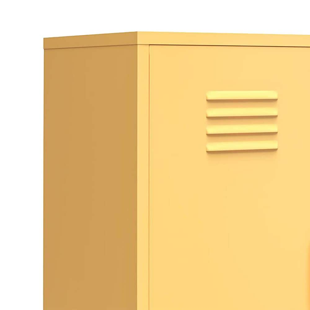 Novogratz Cache 2-Door Storage Cabinet in Yellow, , large