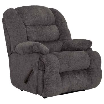 Moore Furniture Everest Oversized Rocker Recliner in Nucleus Cement, , large