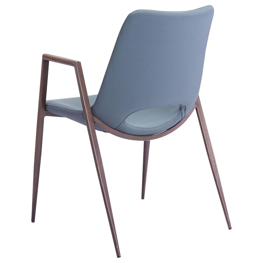 Zuo Modern Desi Dining Chair in Gray, , large
