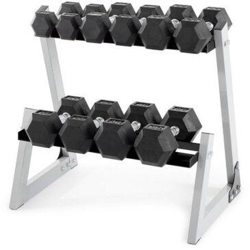Weider 200 lb Dumbbell Set with Rack , , large