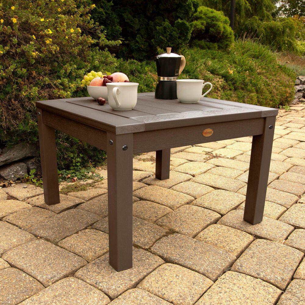 Highwood USA Adirondack Side Table in Weathered Acorn, , large