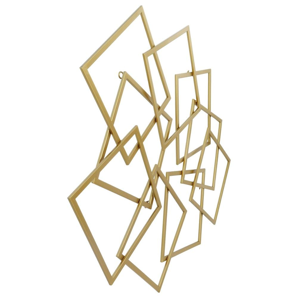 Moe's Home Collection Quad Wall Decor in Gold, , large