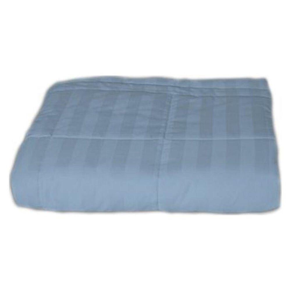 Epoch Hometex Cotton Loft Twin Blanket in Smoke Blue, , large