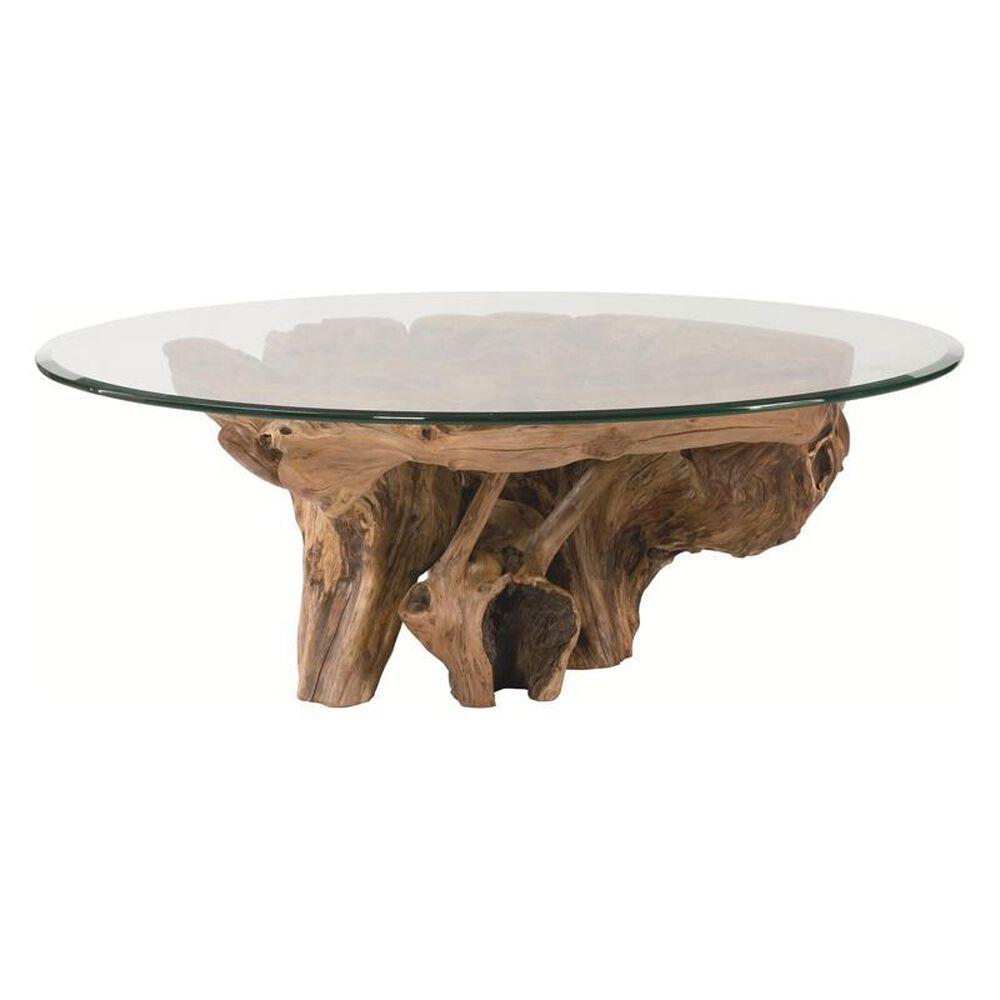 Hammary Hidden Treasures Root Ball Coffee Table, , large
