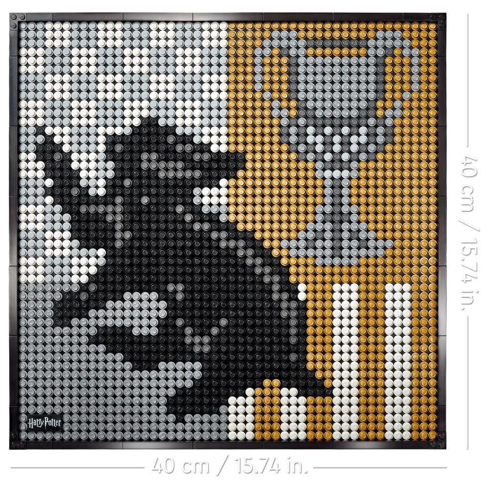 LEGO Art Harry Potter Hogwarts Crests, , large