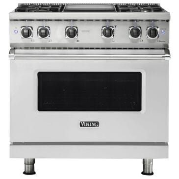 """Viking Range 36"""" Natural Gas Range with 4 Burners in Stainless Steel, , large"""