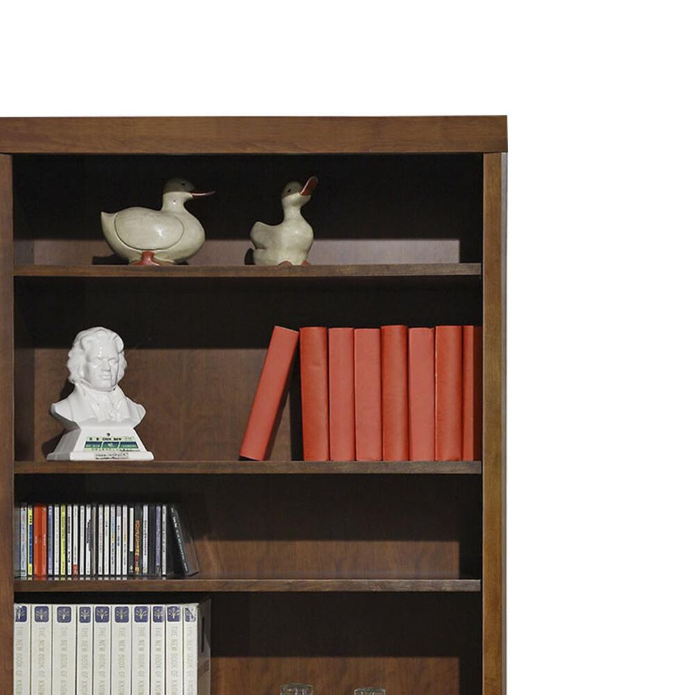 """Bakersfield Koncept 32"""" Open Bookcase in Brown Cherry, , large"""