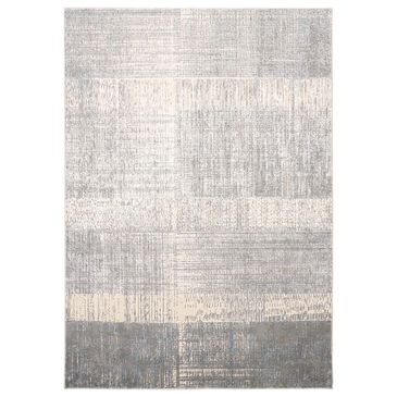 Feizy Rugs Azure 3413F 8' x 11' Blue and Beige Area Rug, , large