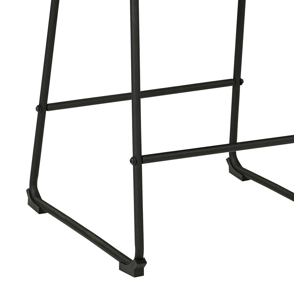Signature Design by Ashley Nerison Counter Stool in Black, , large