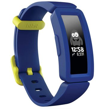 Fitbit Ace 2 Kids Activity Tracker in Night Sky and Neon Yellow, , large