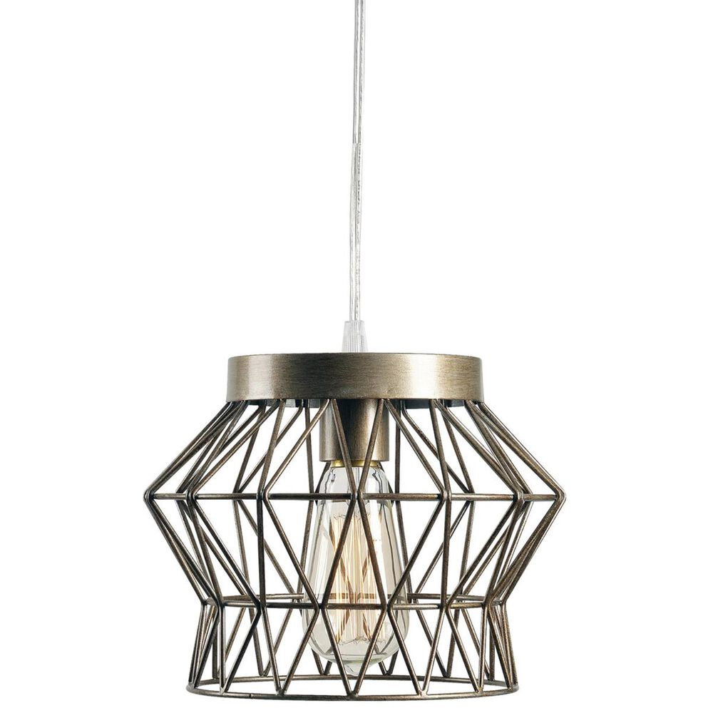 Kenroy Thaxton 1-Light Swag Pendant in Silver, , large