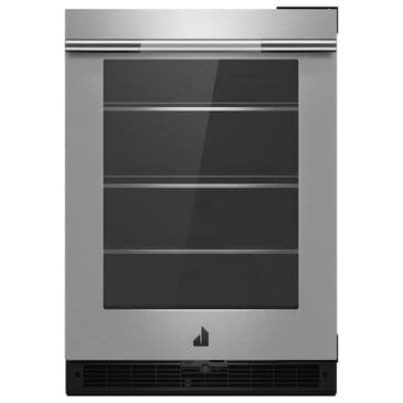 """Jenn-Air RISE 24"""" Right Swing Under Counter Refrigerator in Stainless Steel, , large"""