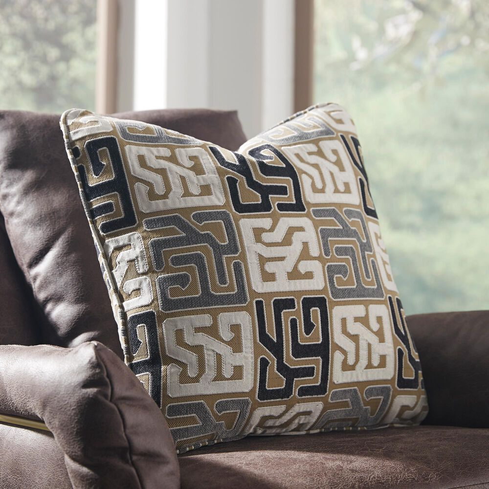 Signature Design by Ashley Tillamook Pillow in Black, Tan and Gray, , large