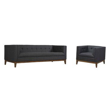 Tov Furniture Gavin Living Room Set in Grey Linen , , large