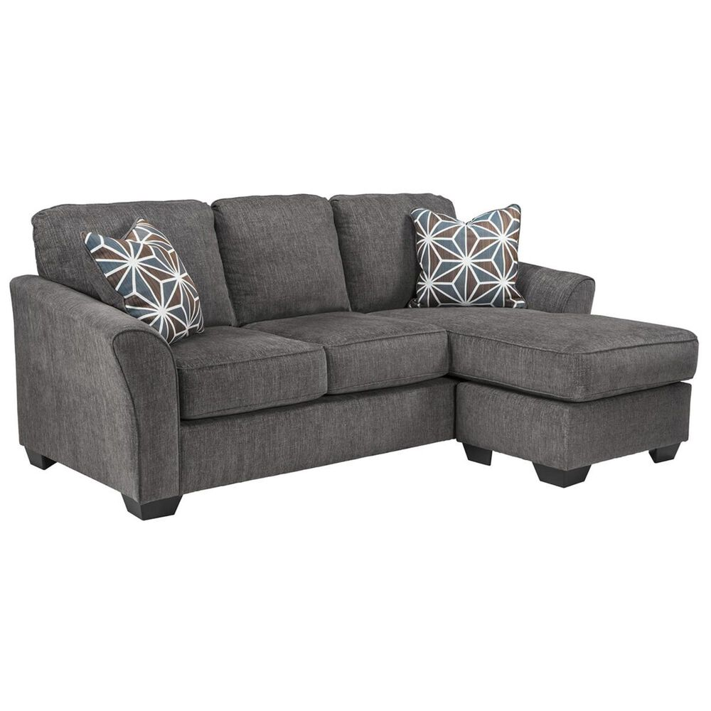 Signature Design by Ashley Brise Sofa with Chaise in Slate, , large