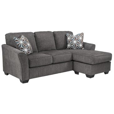 Signature Design by Ashley Brise Right Facing Sectional with Chaise in Gray, , large