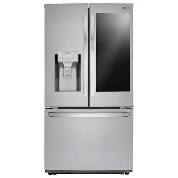 LG 21.9 Cu. Ft. 3-Door French Door Counter Depth Refrigerator with InstaView Door-in-Door in Stainless Steel , , large