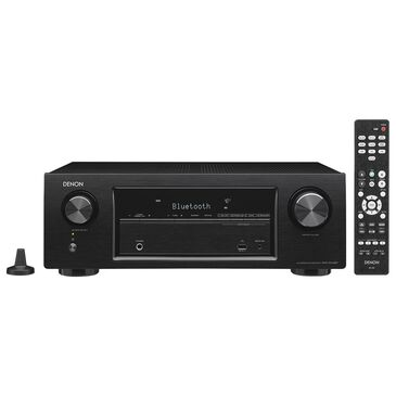 Denon AVRS540BT - 4K UHD 5.2 Channel AV Receiver, , large