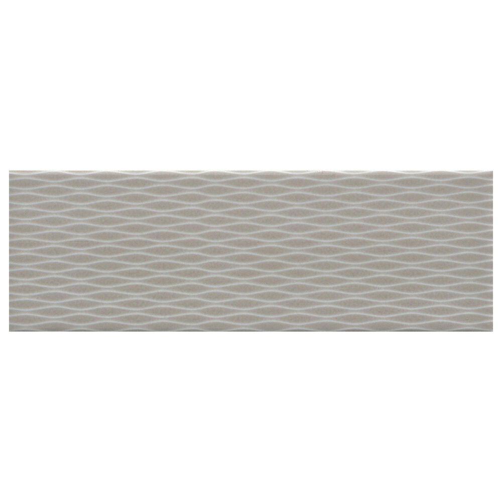 """Emser Motif II Taupe 4"""" x 12"""" Ceramic Tile, , large"""