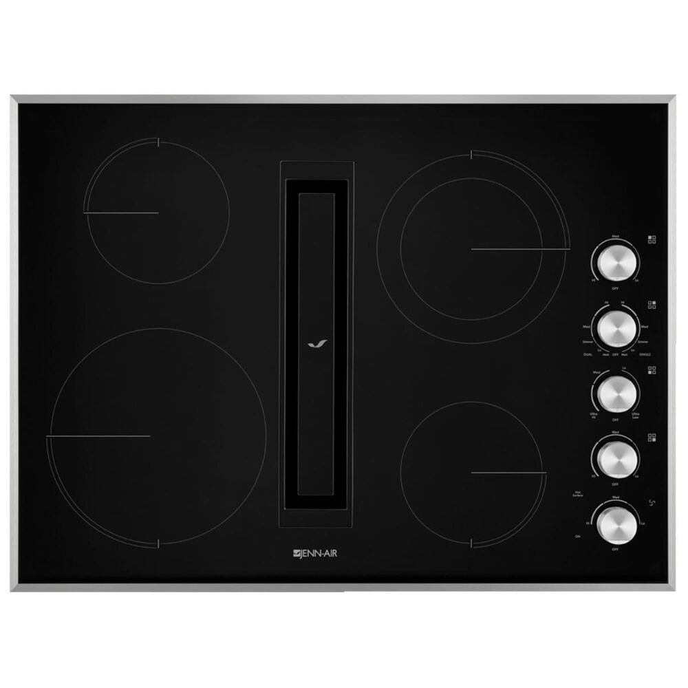 """Jenn-Air 30"""" JX3 Electric Downdraft Cooktop in Stainless Steel, , large"""