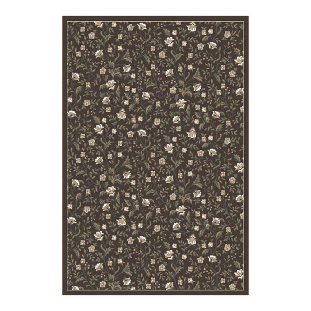 "Radici USA Pisa 6674 7'10"" x 10'6"" Brown Area Rug, , large"