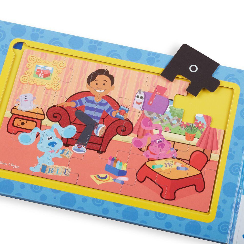Melissa & Doug Blues Clues & You Take-Along Magnetic Jigsaw Puzzles, , large