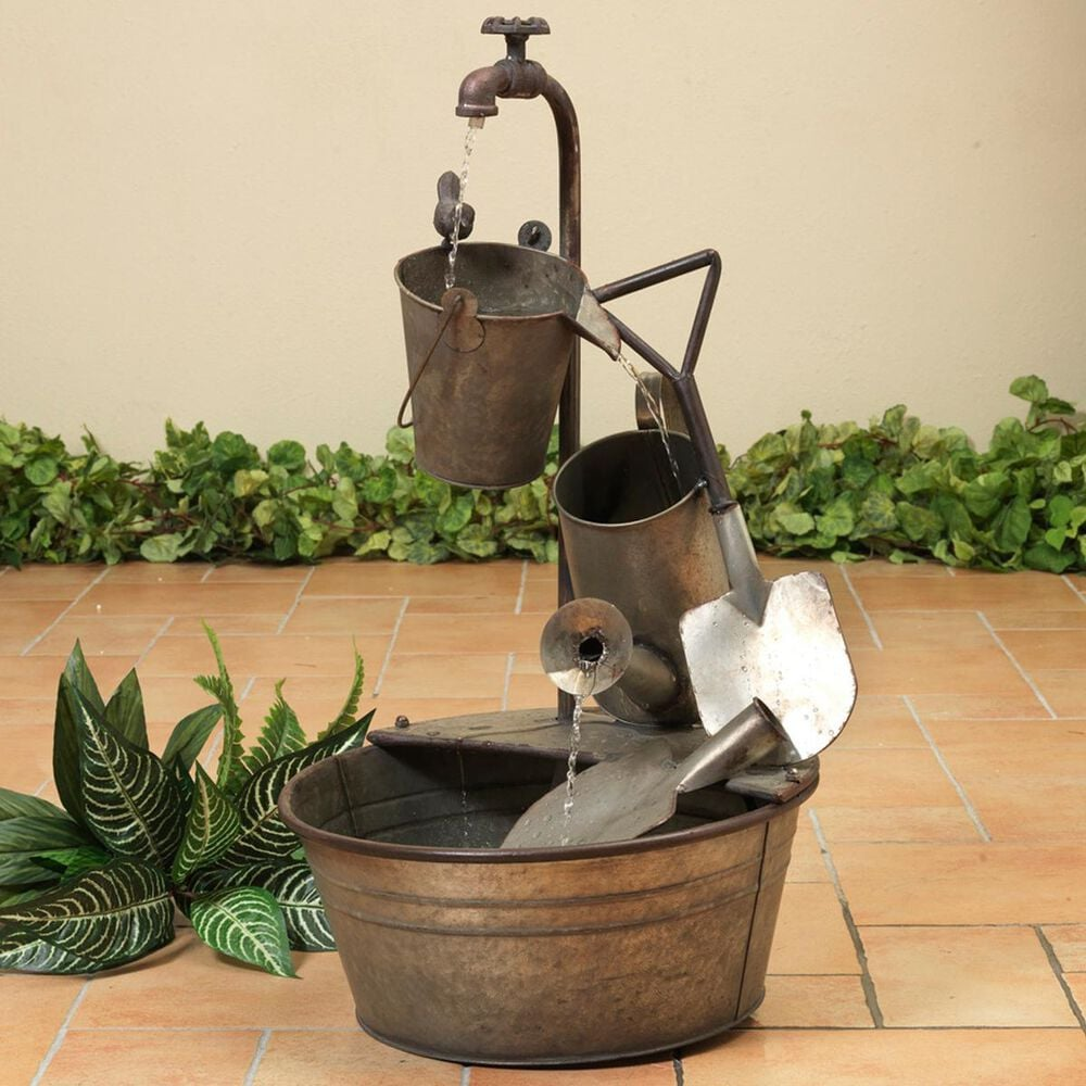 """The Gerson Company 28.35"""" Electric Water Fountain, , large"""