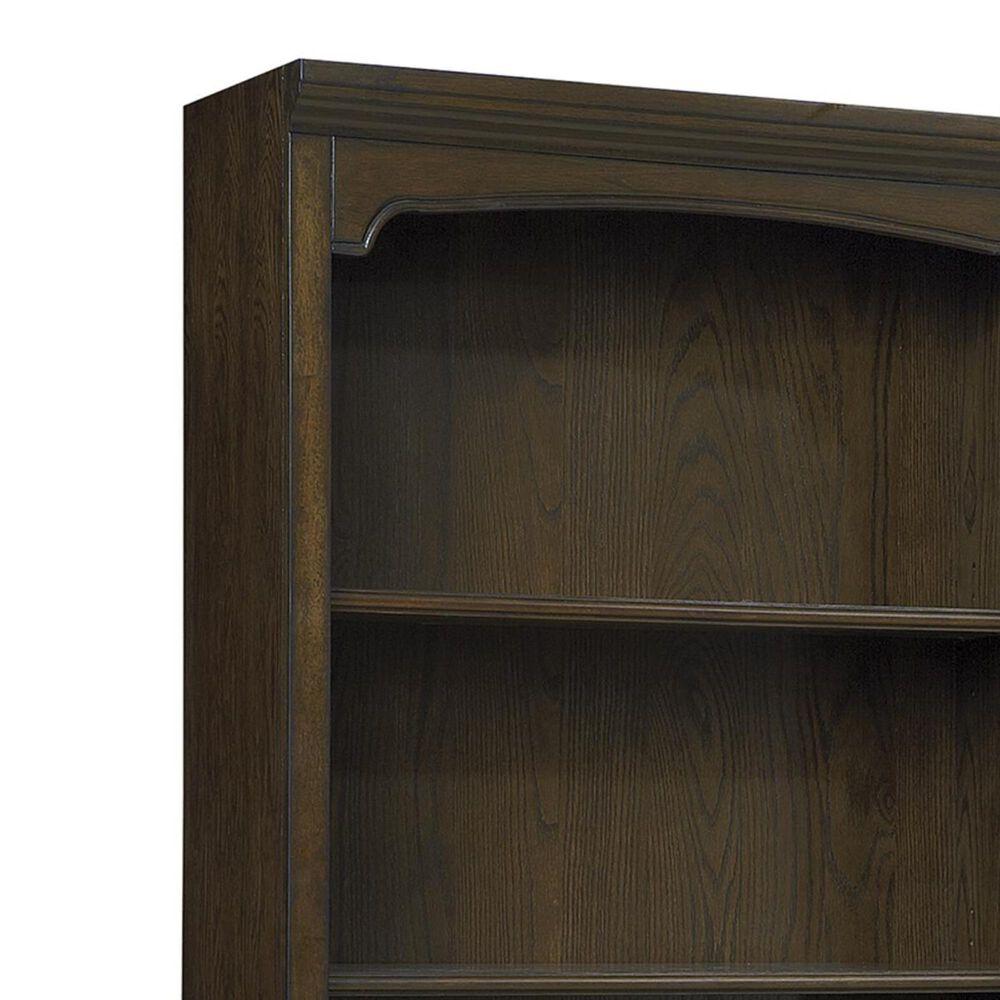 Riva Ridge Essex Door Bookcase in Molasses Brown, , large