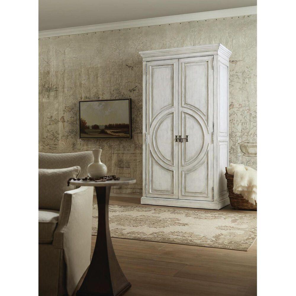 Hooker Furniture Boheme Bilzen Wardrobe in Whitewash, , large