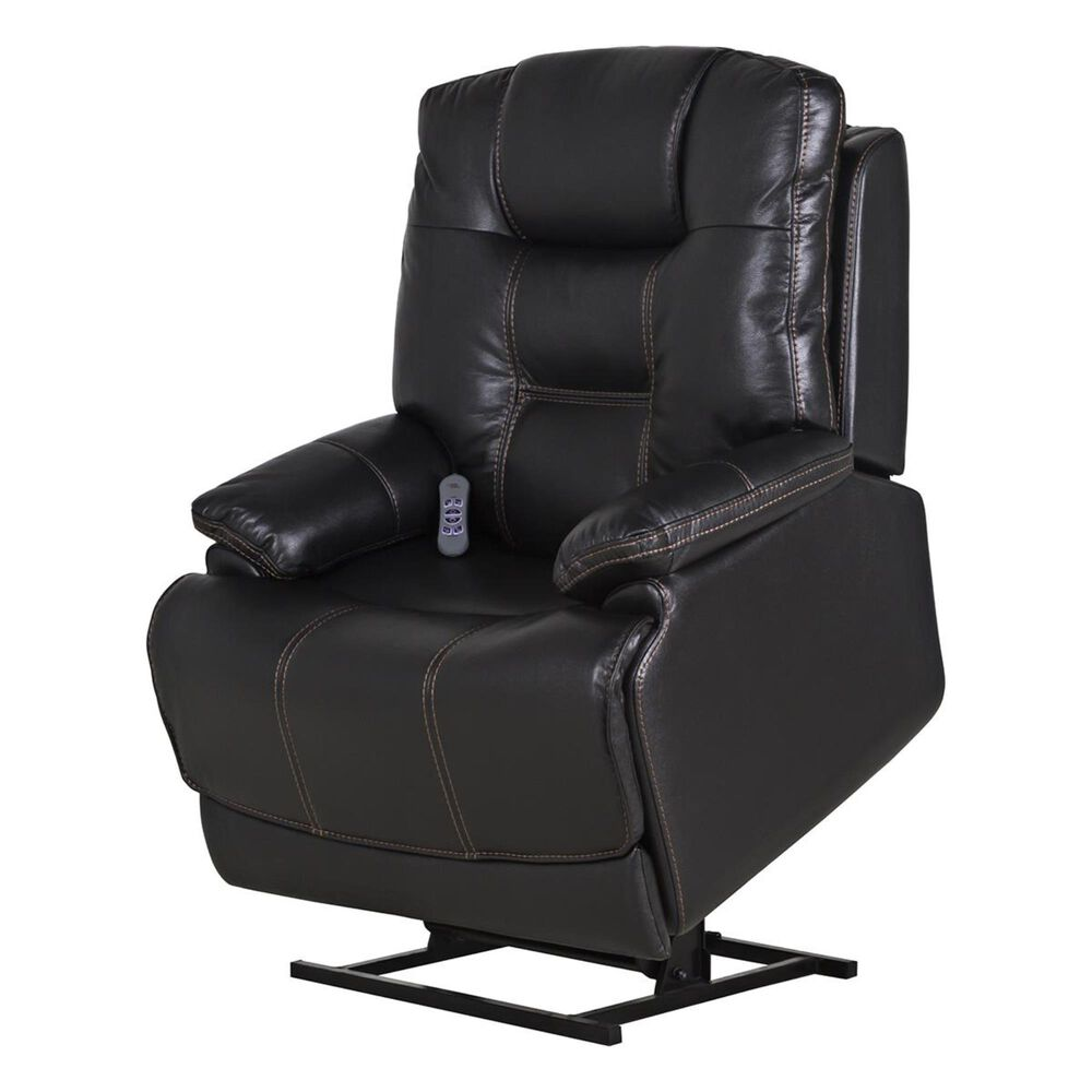 Motion Magic Lift Recliner with Power Headrest in Picasso Midnight, , large
