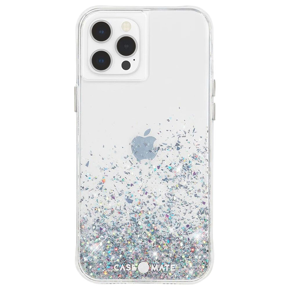 Case-Mate Twinkle Case With Micropel For Apple iPhone 12 Pro Max in Ombre Black, , large