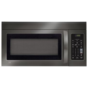 LG 1.8 Cu Ft Over-the-Range Microwave Oven in Black Stainless Steel, , large