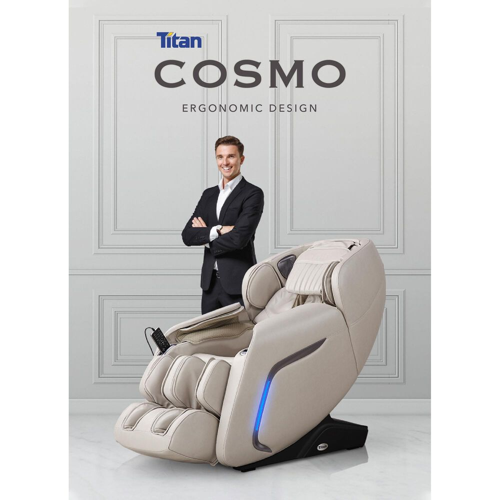 Osaki Titan Pro Cosmo Zero Gravity Massage Chair in Black, , large