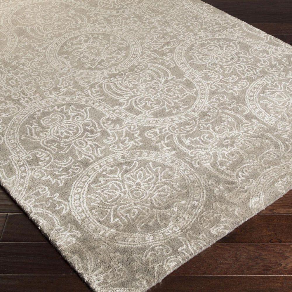 Surya Henna HEN-1000 5' x 8' Gray Area Rug, , large